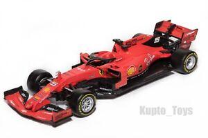 F1 Ferrari SF90 Sebastian Vettel #5, 2019 Season, Bburago 1:43 scale gift model