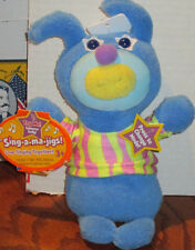 SING A MA JIG Blue 'When the Saints' Singing Doll NWT Soft Stuffed Animal