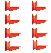 PACK OF 8 BRICKLAYERS  CORNER LINE BLOCKS,  FREE P&P