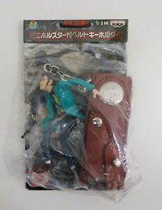 "Lupin The Third Figure Keychain Keyholder Mascot Banpresto Toy 3"" Japan"