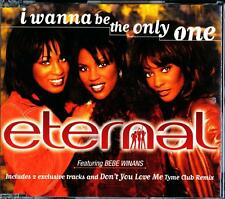 ETERNAL FEAT BEBE WINANS I WANNA BE THE ONLY ONE 4 TRACK AUSTRALIAN CD - VGC
