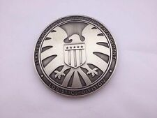 The Avengers Agents of Shield S.H.I.E.L.D. Metal Badge PIN Full size