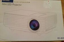 DB Power Mini LED Projector. New.  Remote/LED Lamp/HD Support   (70)