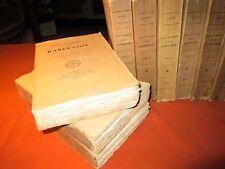 RARE. 9 vol. Journal et mémoires du marquis d'Argenson (Louis XV)