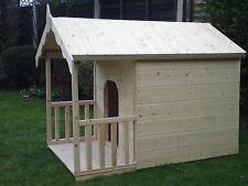 dogkennelsdogruns   6 X 3 luxury wooden dog kennel with veranda   for large dog