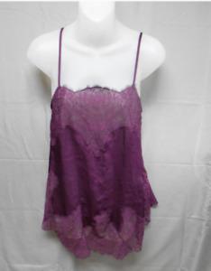 Victoria's Secret Purple chemise babydoll Medium NWOT