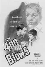 400 Blows ~ Regular 27x40 Movie Poster Francois Truffaut New/Rolled!