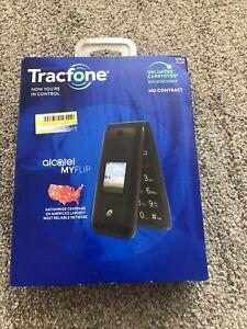 Alcatel A405DL MyFlip - Tracfone Prepaid BASIC 4G Phone. READ DESCRIPTION! C38