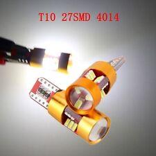 2x 12V 1156 T10 W5W 4014 27-SMD ANBUS STANDLICHT BLINKER BREMSLICHT BIRNE Weiß