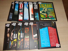 OPERA COMPLETA IN 13 USCITE DVD LIGALIVE LIGA LIGABUE LIVE