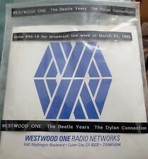 Bob Dylan CD Radio Transcription-The Beatle Years