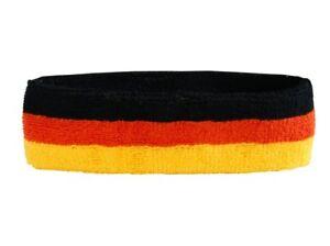 Stirnband Argentinien mit Sonne 6x21cm Schweißband für Sport Headband