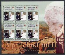 ANTIGUA 2005 Papst Johannes Paul II. Pope John Paul 4283 ** MNH