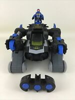 Imaginext Batbot Batman Robot Transforming Toy Remote Control Fisher Price 2013
