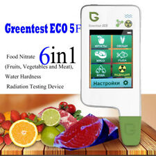 2018  High Accuracy Food, Meat, Fish Nitrate Tester, water TDS GREENTEST ECO 5F