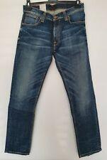Nudie Jeans Co. Thin Finn Dusk Indigo Organic - W34 x L32 BNWT. Free UK Delivery