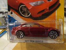 Hot Wheels '10 BMW M3 2011 New Models Red