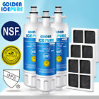Fit For LG LT700P & LT120F Refrigerator Water Filter & Air Filter 3 PACK photo