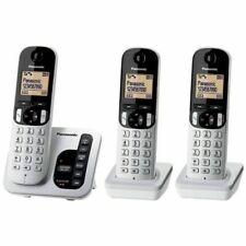 Panasonic KXTGC223ALS Cordless Phone with 3 Handsets