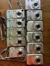 Lot Of 11 Cameras HP Photosmart M527-4, M525-2, M547-1, M417-2, M307-2 classroom