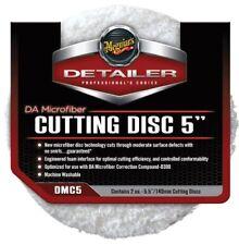 """Meguiars DMC5 DA Microfiber Cutting Pad 5"""" 2-Pack"""
