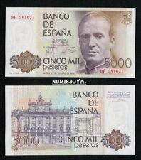 5000 Pesetas 1979 Juan Carlos I. RARA Serie 9 F. nº 381671. SIN CIRCULAR.