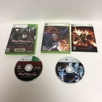 Devil My Cry HD Collection and Devil May Cry 4 Lot Xbox 360 Tested