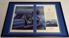 1965 Ford Thunderbird Framed ORIGINAL 12x18 Vintage Advertising Display