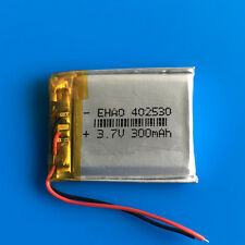 300mAh 3.7V Li Po Polymer Battery for PSP Headset Smart Watch MP3 MP4 GPS 402530