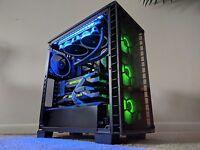 Ultimate Gaming Computer PC i7 8700k 4.90GHZ - GTX 1080 Ti SLI - 32GB -250GB SSD