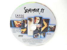 September 11 9-11 Short Film Collection DVD Ken Loach Sean Penn NO CASE