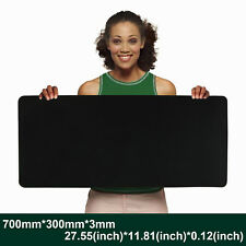 New Large Mouse Pad Extended Gaming XL 700x300mm Big Size Desk Mat Black US