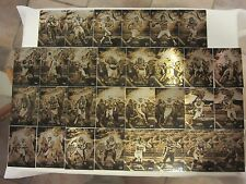 2015 Topps Fire Metal Into the Wild NFL Football Cards 05 / 10 Complete Set