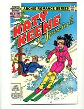 Katy Keene Special #3     Skiing Cover