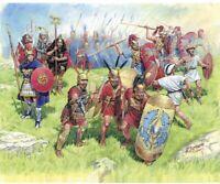 Zvezda 8034, 1:72, Römer Republik Infant. III-II B.C. 40 Figuren, Plastikmodellb