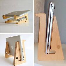 Universal PC Ständer 100% Holz+Bambus Halterung Für Notebook iPad Laptop Tablet