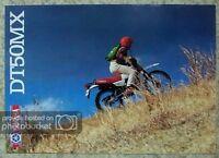YAMAHA DT50MX Motorcycle Sales Brochure c1982 #LIT-3MC-0107588-82E