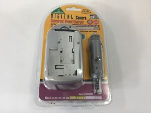 CAMERA CHARGER Universal Kodak Casio Batteries Digital AC DC new