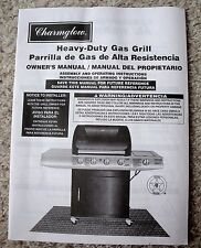 Charmglow Heavy-Duty Gas Grill Owner's Manual - Assembly & Operating Instruction