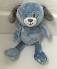 Little Miracles Blue Plush Puppy Dog Gray Ears Paws Costco Stuffed Animal