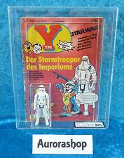 Star Wars Kenner figura YPs Magazine Germany imperial Stormtrooper AFA 80 1980