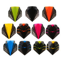 10 Pieces Universal Dart Flights Tail - Standard Shape - Darts Equipment Set