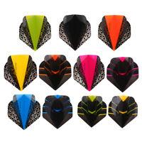 Standard Shape Black//Purple Dart Flights H13-23 Viper 150