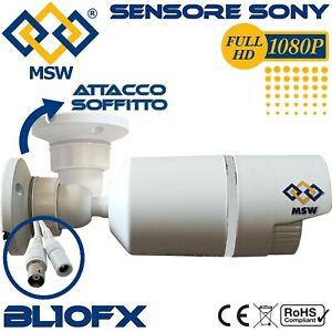 Telecamera Bullet AHD 4MP 1080P Sensore Sony IMX322 3.6mm 30-40 Metri IP66 UTC