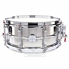 Dunnett Classic 2N Stainless Steel Snare Drum 14x6.5 - Video Demo