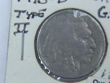 ONE 1913-D US BUFFALO 5c NICKEL VG COIN