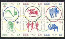 Germany 1964 Olympic Games/Olympics/Judo/Cycling/Bikes/Horses/Sport blk (n26891)