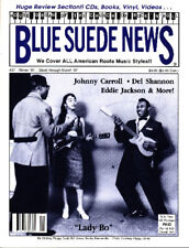 Blue Suede News #37 Lady Bo Diddley Johnny Carroll