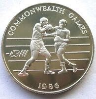 Tonga 1986 Games 2 Pa'anga Silver Coin,Proof