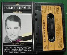 The Maurice Chevalier Collection Mimi Louise + Deja Vu Cassette Tape - TESTED